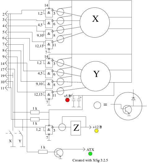 Перемещение по осям X и Y в