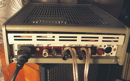 Самодельный ламповый усилитель.  Владелец - Александр_П.  Усилитель имеет выходную мощность 3 Вт на канал...